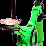 E-Scooter Detail Rücklicht mit Kennzeichenhalter