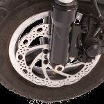 E-Scooter Detail Scheibenbremse vorne