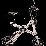 E-Scooter Weiß, geöffnet